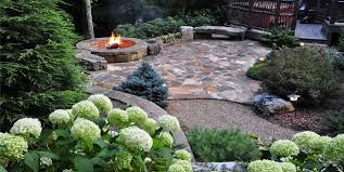 flagstone patio with grass. Greenleaf Services Inc. Flagstone Patio With Grass H