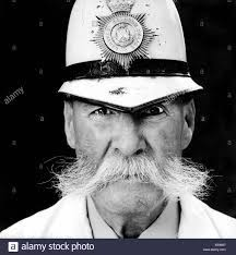 Barnsley policeman - Bill Harber MBE wearing his original uniform ...