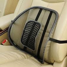 hot comfortable mesh chair relief lumbar back pain support car cushion office seat chair black lumbar cushion car interior accessories canada car