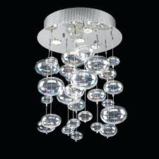glass bubble chandelier clear glass bubble chandelier bubble glass chandelier pendant ceiling light with rainbow clear