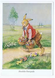 Картинки по запросу пасхальный заяц открытки германия