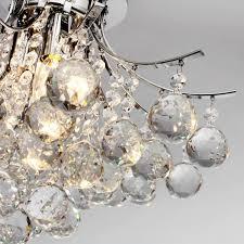 flush mount crystal ceiling light lightinthebox modern crystal ball chandelier ceiling light pendant