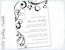 Wedding Invitations Microsoft Word How To Make Wedding Invitations
