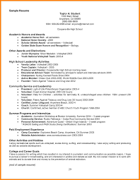 Simple National Honors Society Resume National Honor Society Resume Digg3  Sample Resume For