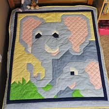 Baby Blue Elephant Pattern in Multiple sizes - PDF. $9.00, via ... & Baby Blue Elephant Pattern in Multiple sizes - PDF. $9.00, via Etsy. Adamdwight.com