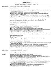 Certified Developer Resume Integration Developer Resume Samples Velvet Jobs
