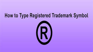 Registered Symbol How To Type Registered Trademark Symbol Type Symbol By