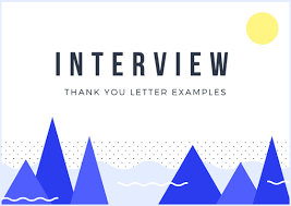 Interview Thank You Letter Examples You Need Right Now
