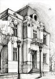 architecture buildings drawings. Beautiful Buildings Drawing By Adelina Popescu In Architecture Buildings Drawings