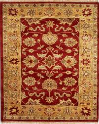 taj agra rugs red 01 tap to expand