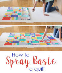 How to Spray Baste a Quilt | Cluck Cluck Sew & How to Spray Baste a Quilt Adamdwight.com