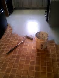 chalk paint on laminate floors