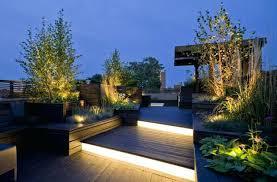 led garden lighting ideas outdoor part 2 landscape r29 garden