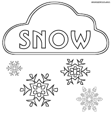 Small Picture Snow coloring pages Coloring pages to download and print