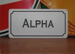 In fact, there are two english languages — the written english and the spoken or phonetic english. Metal Sign Phonetic Alphabet Alpha Bravo Black White Office Wall Door Plaque 4 99 Picclick Uk