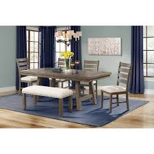 picket house furnishings. Picket House Furnishings Dex 7-Piece Dining Set With Table, 4 Ladder Side Chairs I