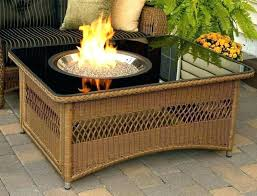 fake fire pit glass pits propane heater logs for f diy