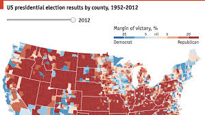 2012 Election Chart A History Of Red And Blue Daily Chart