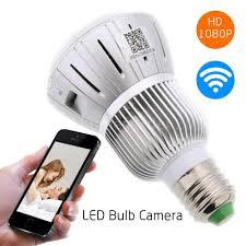 Wifi Tube Light Hd 1080p Hidden Smart Home Safty Wifi Camera Led Lamp Bulb
