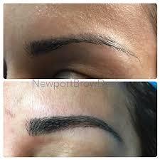 eyebrow microblading before and after. eyebrow microblading- id #8before and after #8 microblading before