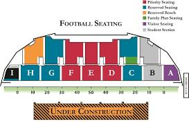 Seating Charts University Of South Dakota Athletics Inside