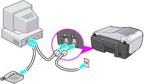 canon knowledge base connect the telephone line cord to the if you re connecting a separate telephone connect it to the extension jack on the computer