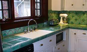 Small Picture Tile Countertops Make A Comeback Know Your Options