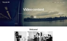 Video Website Template Stunning Video Production Website Template 28