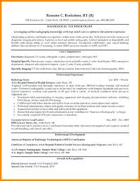 Resume For Radiologic Technologist Gorgeous Radiologic Technologist Resume X Ray H Resume Examples Photo Gallery