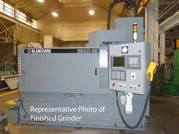 rotary surface grinder. blanchard #22ad-42, 42\ rotary surface grinder
