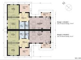 Semi Detached House Plans  storey house floor plan dimensions    Semi Detached House Plans
