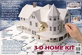 Design Your Own Apartment Online Delectable 48D Home Kit All You Need To Construct A Model Of Your Own Home Or