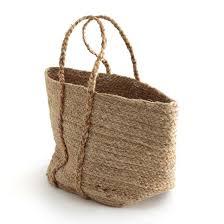 <b>Корзина</b> из натуральной джутовой ткани, naturalle серо ...