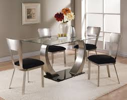 glass dining table and chairs glass dining table sets on dining room intended for stunning glass