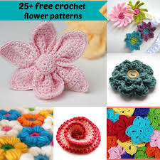 Crochet Free Patterns Mesmerizing 48 Free Easy Crochet Flowers Patterns