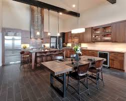 Rustic Contemporary Kitchen Cool Design Rustic Modern Ideas Pictures  Remodel And Decor.