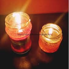 light up your handmade candles and feel proud of your creation when the light brightens up your room