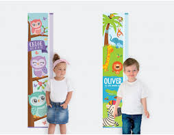 Personalised Height Chart Growth Chart Poster For Toddlers