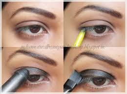 easy step by step smokey eyes picture tutorial