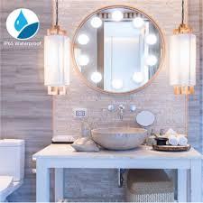 Bathroom Light Dimmer 10pcs Makeup Mirror Light Dimmer Control High Brightness