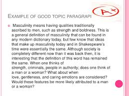 how to write a good introduction  5 example of good topic