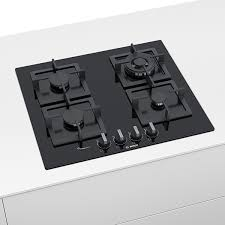 bosch serie 6 60cm black tempered glass gas cooktop pph6a6b20a e s kitchen bathroom laundry