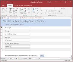 Customization Client Service Tracker