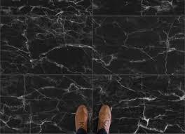 black marble floor tiles. Nero From Black Vinyl Floor Tiles, Image Source: Atrafloor.com Marble Tiles