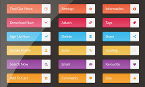 30 Free Web Buttons Dribbble Graphics
