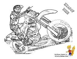Small Picture Motorbike Coloring Pages Free Kawasaki FMX Motorbike