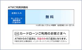 ソニー 銀行 atm