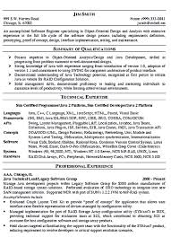Sample Resume For Experienced Embedded Engineer Software Engineer Resume Includes Many Things About Your Skills 12