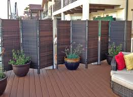 Add Privacy Outdoors With Easyup Screens Curtains More