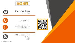 Professional Business Card Templates Sleek Professional Business Card Template Postermywall